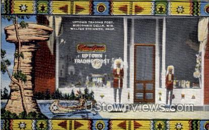 Uptown Trading Post - Wisconsin Dells Postcards, Wisconsin WI Postcard