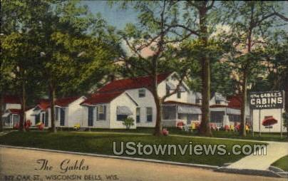 The Gables - Wisconsin Dells Postcards, Wisconsin WI Postcard