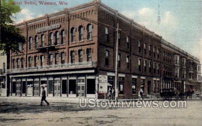 Hotel Bellis - Wausau, Wisconsin WI Postcard
