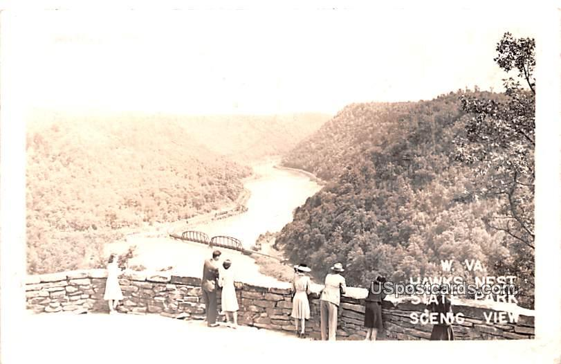 Hawks Nest State Park - Ansted, West Virginia WV Postcard