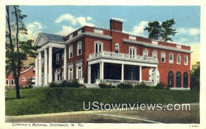 Governor's Mansion - Charleston, West Virginia WV Postcard