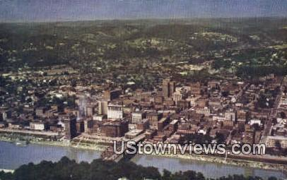 Business Area - Charleston, West Virginia WV Postcard