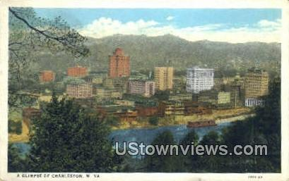 Charleston, West Virginia,     ;     Charleston, WV Postcard