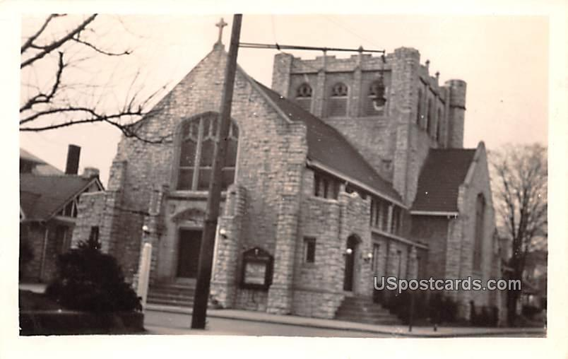 St Pauls Methodist Church - Charleston, West Virginia WV Postcard