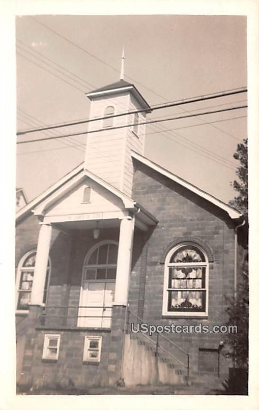 Church of God - Charleston, West Virginia WV Postcard