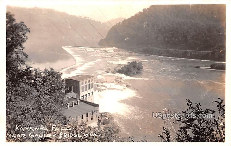 Kanawha Falls - Gauley Bridge, West Virginia WV Postcard