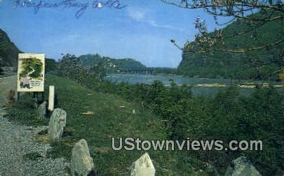 Harpers Ferry National Monument - West Virginia WV Postcard