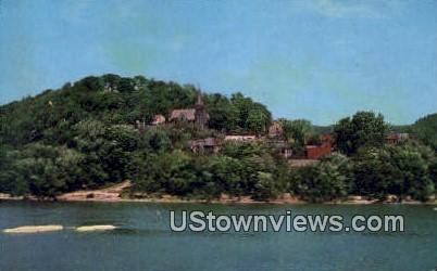Harper's Ferry To-Day - Harpers Ferry, West Virginia WV Postcard