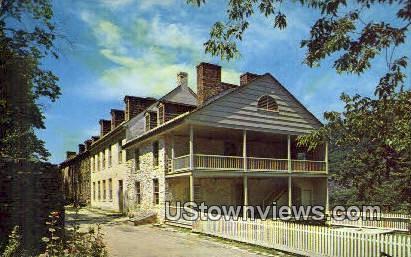 Harper House - Harpers Ferry, West Virginia WV Postcard