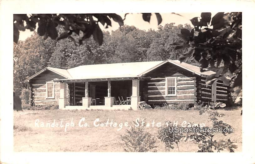 Randolph Co Cottage - Jackson Mills, West Virginia WV Postcard