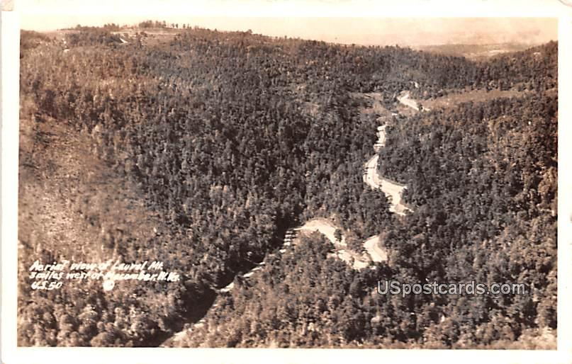 Aerial View from Laurel Mountain - Macomber, West Virginia WV Postcard