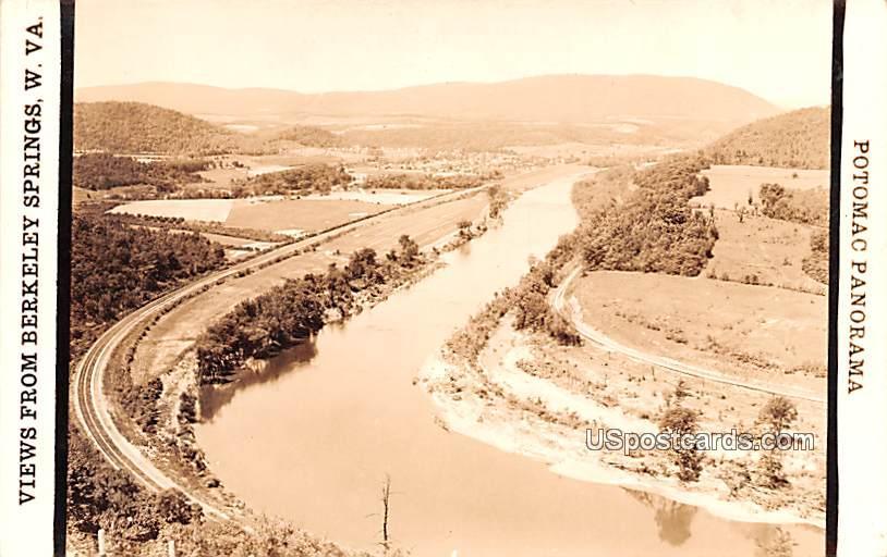 Views from Berkelley Springs - Potomac, West Virginia WV Postcard