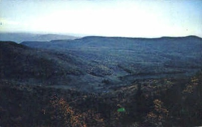 Majestic Mountains  - Monongahela National Forest, West Virginia WV Postcard