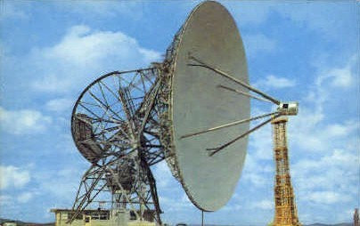 National Radio Astronomy Observation - Green Bank, West Virginia WV Postcard