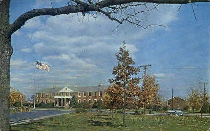 The Veterans' Administration Center - Martinsburg, West Virginia WV Postcard