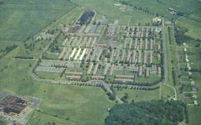 The Veterans' Administration Center - Martinsburg, West Virginia WV Postcard