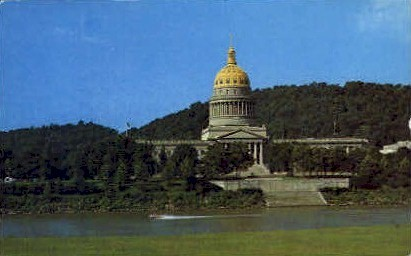 Charleston , West Virginia, WV Postcard