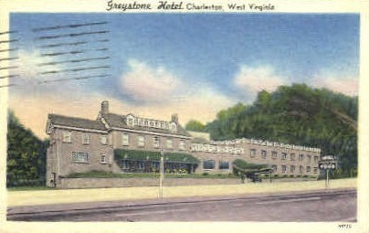 Greystone Hotel  - Charleston, West Virginia WV Postcard
