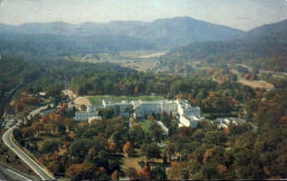 The Greenbrier - White Sulphur Springs, West Virginia WV Postcard