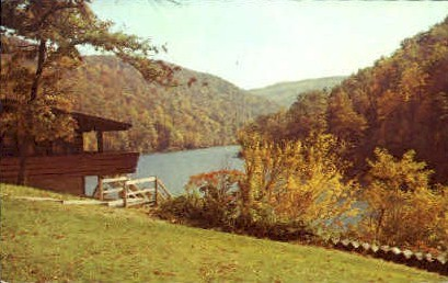 Scenic Cheat Lake  - Morgantown, West Virginia WV Postcard