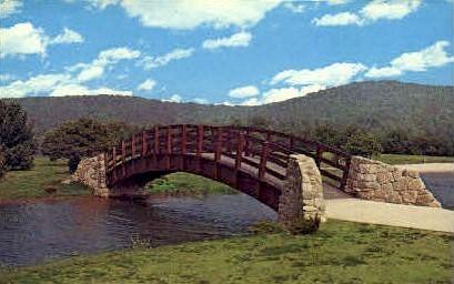 Sherwood Lake  - Sunshine Valley, West Virginia WV Postcard