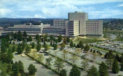 University Medical Center  - Morgantown, West Virginia WV Postcard