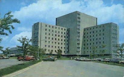 University of West Virginia Medical - Morgantown Postcard