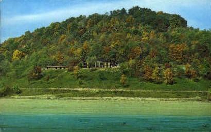 Tygart Lake State Park Lodge - Grafton, West Virginia WV Postcard