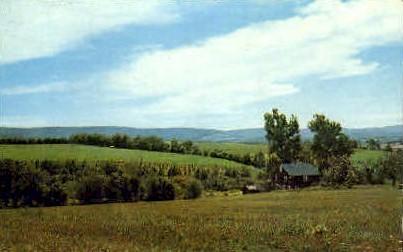 Landscape View - Grafton, West Virginia WV Postcard