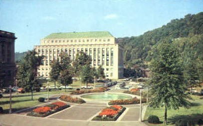 State Office Building  - Charleston, West Virginia WV Postcard