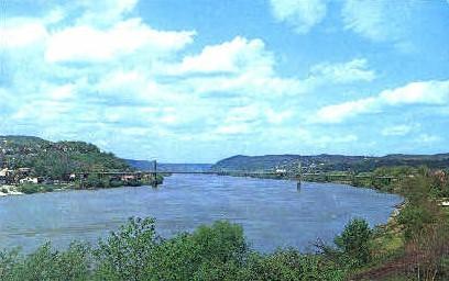 Chester, West Virginia, WV Postcard