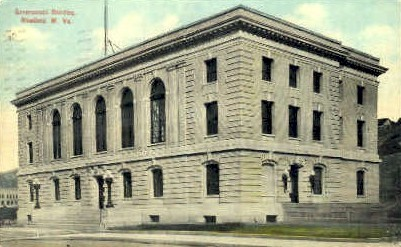 Government Building  - Bluefield, West Virginia WV Postcard