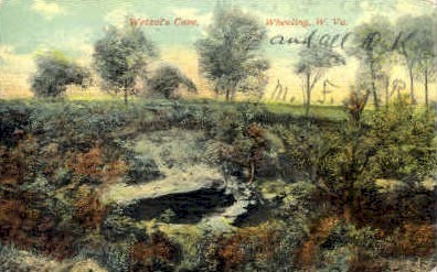 Wetzel's Cave - Wheeling, West Virginia WV Postcard
