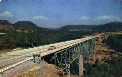 West Virginia Turnpike  - MIsc Postcard