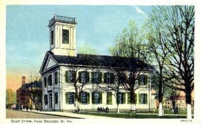 Court House  - Point Pleasant, West Virginia WV Postcard