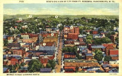 From Ft. Boreman - Parkersburg, West Virginia WV Postcard