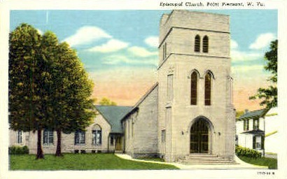 Spiscopal Church  - Point Pleasant, West Virginia WV Postcard