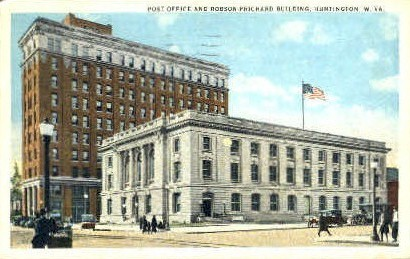 Robson-Prichard Building - Huntington, West Virginia WV Postcard
