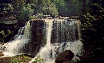 Davis, West Virginia, WV Postcard