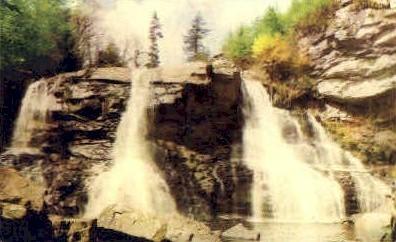 Tucker County, West Virginia, WV Postcard