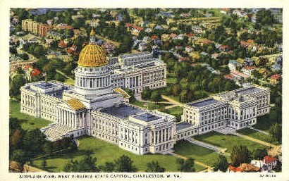 State Ca - Charleston, West Virginia WV Postcard
