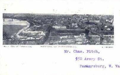 City of Parkersburg - West Virginia WV Postcard