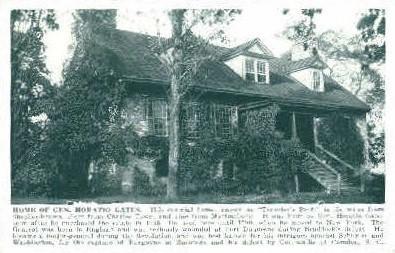 Home of Gen. Horatio Gates - Shepherdstown, West Virginia WV Postcard