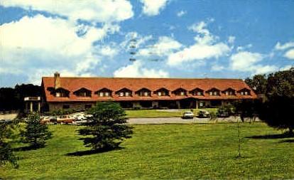 Cacapon Lodge  - Cacapon State Park, West Virginia WV Postcard