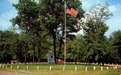 Rineheart Memorial Circle  - Parkersburg, West Virginia WV Postcard