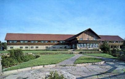 Blackwater Lodge  - Blackwater Falls State Park, West Virginia WV Postcard