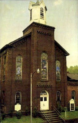 Mother Church of Mother's Day - Grafton, West Virginia WV Postcard