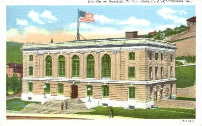 Post Office - Bluefield, West Virginia WV Postcard