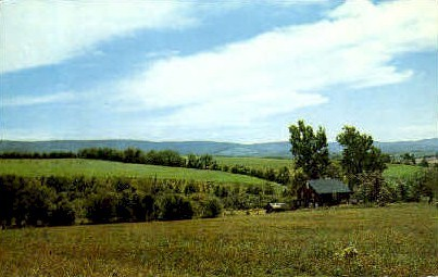 Landscape  - Grafton, West Virginia WV Postcard