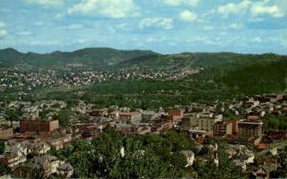 From Lowndes Park - Clarksburg, West Virginia WV Postcard